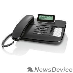 Телефон Gigaset DA710 (IM) Black. Телефон проводной (черный)