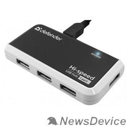 Контроллер DEFENDER USB QUADRO INFIX USB 2.0, 4 порта, 83504